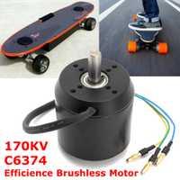2018 170KV C6374 de Motor eléctrico para patineta Longboard de alta eficiente Motor sin escobillas