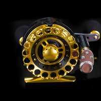 Cojinete de bolas de metal lleno 7bb mosca pescado carrete ex rafting pez carrete hielo Pesca rueda izquierda/derecha cambiante automático línea de colocación