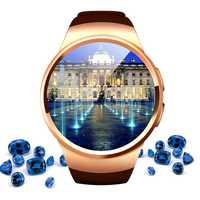 Reloj inteligente de alta tecnología reloj de pulsera conectado para Samsung Huawei Xiaomi Android Smartphones soporte Sync Call messader Smartwach