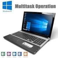 Intel Core i7-3517U 15,6 pulgadas 8 GB RAM 512G SSD construido-en el disco óptico portátil 1920x1080 P Notebook Windows 10 Ultrabook