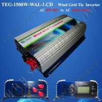 Inversores 1500 W aerogenerador red tie inverter 1.5kw AC a AC con pantalla LCD inversor
