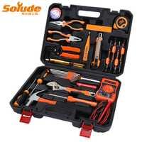 Casa regalos 33 piezas Hardware Herramientas del Kit de reparación eléctrica herramientas Multi-función de combinación conjunto de herramientas