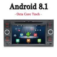 Bosion Android 8,1 Car Radio 2din Octa Core GPS Wifi 4G SWC coche ISO Multimedia reproductor de DVD para ford Focus de tránsito