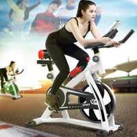 Vélo d'exercice intérieur ultra-silencieux 250kg charge vélo de cyclisme intérieur équipement de sport vélo à pédales