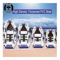 Bote inflable de PVC de 0,9 MM, botes de pesca inflables de 3 capas, bote de goma para kayak laminado resistente al desgaste para pesca