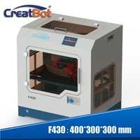 Creatbot 3d impresora F430 gran tamaño de impresión doble extrusoras de Metal cerrado Cámara 1,75mm PLA, ABS, PVA vistazo Nylon PC PA de impresión