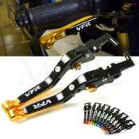 Para Honda VFR750 VFR 750 RJ RL RC30 RC 30 1988-1993, 1989, 1990, 1991, 1992 de la motocicleta CNC plegable palancas de embrague de freno extensible