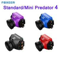 Foxeer estándar/Mini depredador 4 Super WDR 4 latencia 1000TVL FPV Racing Cámara OSD 4:3 16:9 NTSC amigo para RC aviones no tripulados
