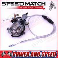Hight performance Keihin pz30 30mm Carburadores Power Jet aceleración de la bomba + cable dual IRBIS para 200cc 250cc motocicleta dirt bicicleta