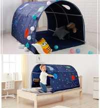 Tienda de juegos portátil para niños plegable pequeña tienda de decoración de la casa Túnel de arrastre cama de piscina de juguete tienda