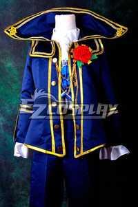 Vocaloid proyecto diva F Kaito Requiem Cosplay delxue E001