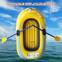 PVC exterior conveniente kayak profesional remo de barco a la deriva pesca inflable canoa Bote Individual Dropshipping