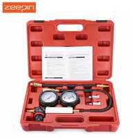 Cilindro coche fugas Tester Meter manómetro Kit inspección Auto herramientas de diagnóstico