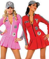 Traje de carrera el auto show modelos de ropa traje de transporte motor mujeres ropa mujeres fiesta animadoras vestido de traje