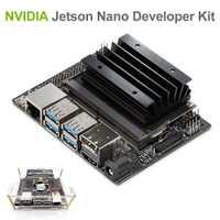 Kit de desarrollo NVIDIA Jetson Nano para la inteligencia artificial de aprendizaje profundo AI Computing, compatible con PyTorch, TensorFlow Jetbot