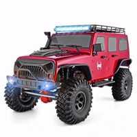 RGT RC Crawler 1:10 escala 4wd RC coche camión monstruo de la carretera RC Rock crucero EX86100 Hobby sobre orugas RTR 4 4x4 impermeable RC Juguetes