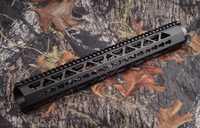 Tactical AR 15 ligero flotante libre 16 pulgadas picatinny handguard rail con keymod qd sling swivels adaptador PRA-16 R9161