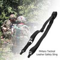 Lixada Adjustabl cinturón táctico caza Correa multifuncional al aire libre táctico militar cinturón de seguridad a Honda de cuero Correa