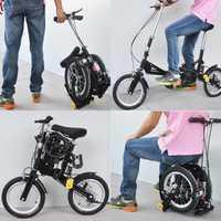 Mini bicicleta plegable portátil de montaña bicicleta de carretera de marco de aluminio de polideportivo de la ciudad de bicicleta con frenos mecánicos