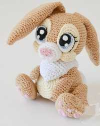 Crochet armigurumi hochet jouet miss lapin modèle numéro 915