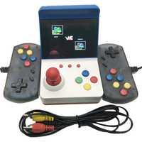 3 pulgadas 8Bit portátil Mini Retro Estación de juegos consola de juegos portátil incorporada de 360 juegos de Video clásico familia TV F C consola de juego