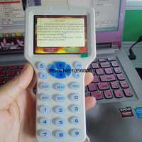 USB smart sistema inglés NFC lector y escritor de 125 kHz-13,56 MHz IC/tarjeta de identificación RFID copiadora para uid etiqueta duplicador T5577