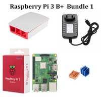 Kit de iniciación a Raspberry Pi 3 modelo B, modelo B +, con Oficial caso 3,5
