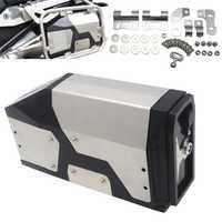 Pour BMW R1200GS ADV Adventure 2004-2012 boîte à outils en alliage ABS boîte à outils 4.2 litres boîte à outils support latéral droit