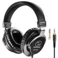 Auriculares de estudio cerrados Neewer NW-3000 10Hz-26 kHz auriculares dinámicos 3 metros Cable 6,5mm + 3,5mm enchufes para grabación de música