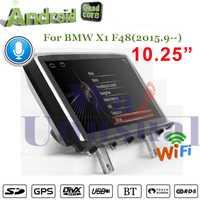 WANUSUAL Android 7,1 navegación GPS del coche para BMW X1 F48 (2015,9.) centro de medios NO DVD reproductor de CD doble Din Quad Core Audio