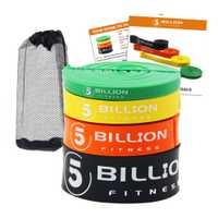 5 mil millones de bandas resistentes al deporte de látex de alta resistencia Set Pull Up Loop Band para entrenamiento de fuerza de peso Ejercicio de potencia