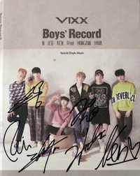 VIXX autografiada firmado con la pluma 2015 Chicos Grabar CD + álbum de fotos álbum En Solitario nueva corea