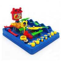 Fly AC acero bola ejecutar juego de lógica juguetes para niños y niñas EDAD 6 y ejercicio mano-ojo juguetes de coordinación