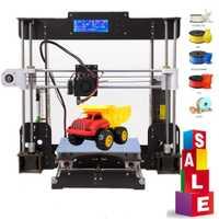3D Impresora A8 Drucker 3d Prusa i3 Reprap MK8 extrusora Heatbed 220*220*240 MM Impresora 3d de no reanudar la impresión
