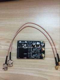 Envío gratuito de alta velocidad 12 bit AD doble canal módulo apoyo grado industrial FPGA Placa de desarrollo de oro negro