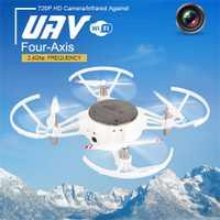 Mini XY-021 Wifi FPV 2,4 GHz 6-Axis 720 p cámara HD RC Quadcopter Drone juguete de regalo divertido juguete los niños Dropship YE12.25