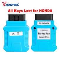 Programador de llaves para Honda para Acura Easykeymaker compatible con todas las teclas llave transpondedor perdida y registro de llave inteligente