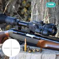 Yukón 4,5X42 X S/6X50 Digital Riflescope caza riflescope noche riflescope el alcance de la visión nocturna de Vista infrarroja dispositivo