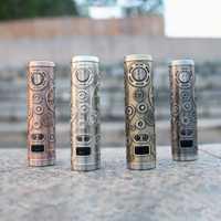 Cigarrillos electrónicos Tesla Punk 86 W Mod Teslacigs Max 86 W alimentado por 18650 batería estilo Punk vaporizador VS punk 85 W Ecig