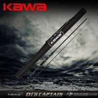 KAWA 2014 nuevo producto capitán viejo, más carbono ligero, caña de señuelo, caña de pescado de cabeza de serpiente, Envío Gratis