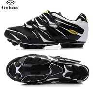 Tiebao Carbon nylon-fibra de vidrio teibao marca montaña Zapatos MTB deportes ciclismo Zapatos montar Bicicletas atléticos Zapatillas de ciclismo