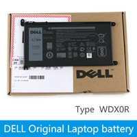 Dell D'origine Nouvelle batterie de remplacement pour ordinateur portable Pour dell Inspiron 14 7000 5567 7560 7472 7460-d1525s 7368 7378 5565 wdxor wdx0r