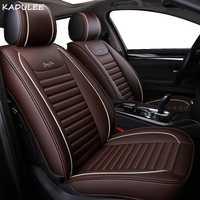 KADULEE fundas de asiento de coche para hyundai solaris getz Elantra Tucson veloster creta i20 i30 ix35 i40 cubiertas de asientos de automóviles auto