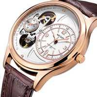 Relojes de cuarzo de lujo para hombre, reloj MEGIR, reloj militar de cuero para hombre, reloj para hombre, reloj para hombre Erkek Kol Saati