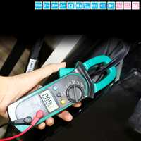 LAOA Digital multímetro de la abrazadera de la AC/tensión DC moneda prueba voltímetro Universal metros sondas para multímetro Transistor Tester