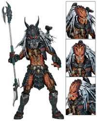 Nueva llegada Alien Vs depredador líder del Clan Kenner película figura de acción H20