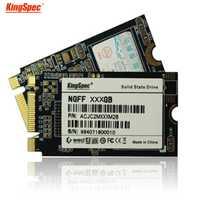 Kingspec M.2 SSD 128 GB unidad de estado sólido de almacenamiento de memoria flash interfaz NGFF PCIe MLC Flash para Tablet Lenovo Thinkpad HP ASUS