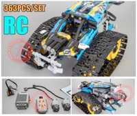 Nuevo 20096 RC rastreado RACER coche de Motor eléctrico de la función ajuste legoings técnica de la ciudad en 42095 bloque de construcción de ladrillos modelo chico regalo