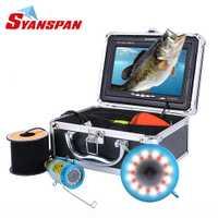 SYANSPAN Original/15/30/50 m HD 1000TVL buscador de peces bajo el agua pesca en el hielo de la cámara de vídeo de 7