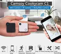 Nueva cámara CCTV WiFi P2P IP 720 p HD control móvil mini cámara inalámbrica Cámara de Acción bicicleta cámara mini DV DVR grabadora de voz video